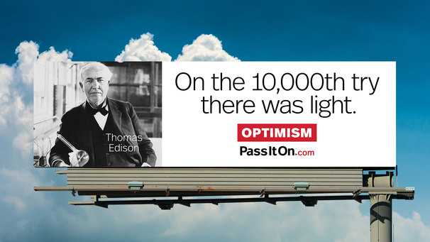 Optimism thomas edison