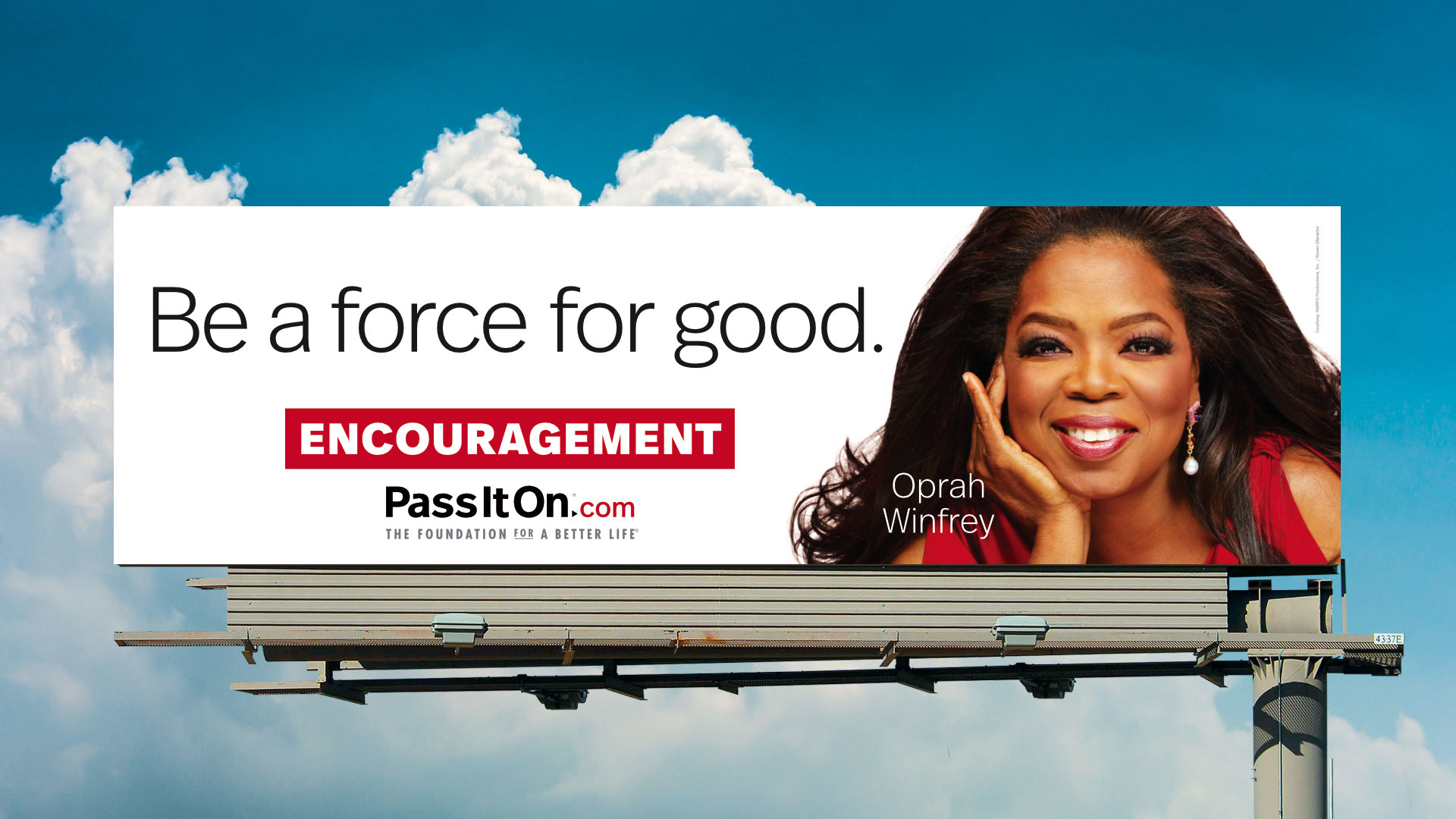 Be a force for good encouragement