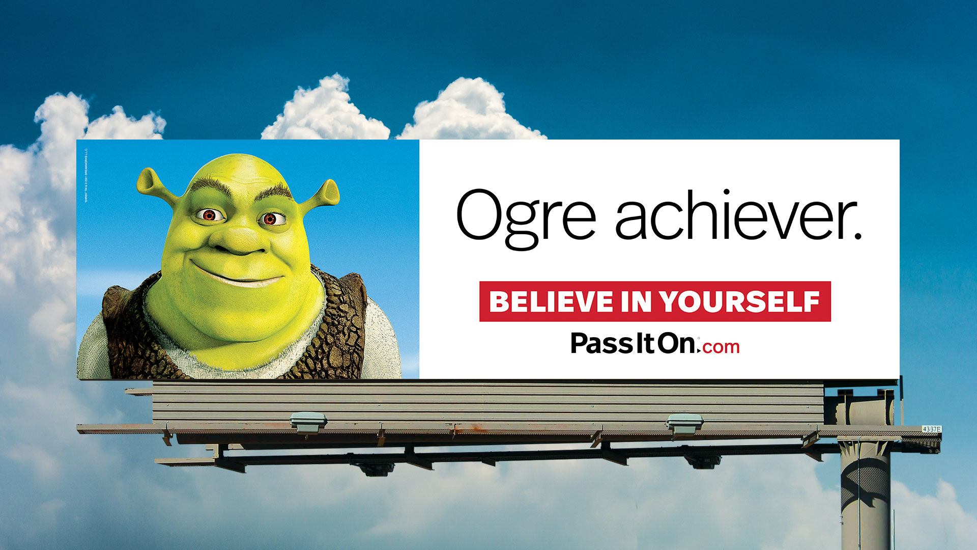 Believe in yourself shrek
