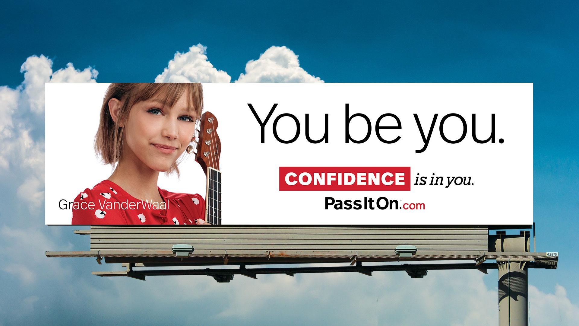 Confidence grace vanderwaal