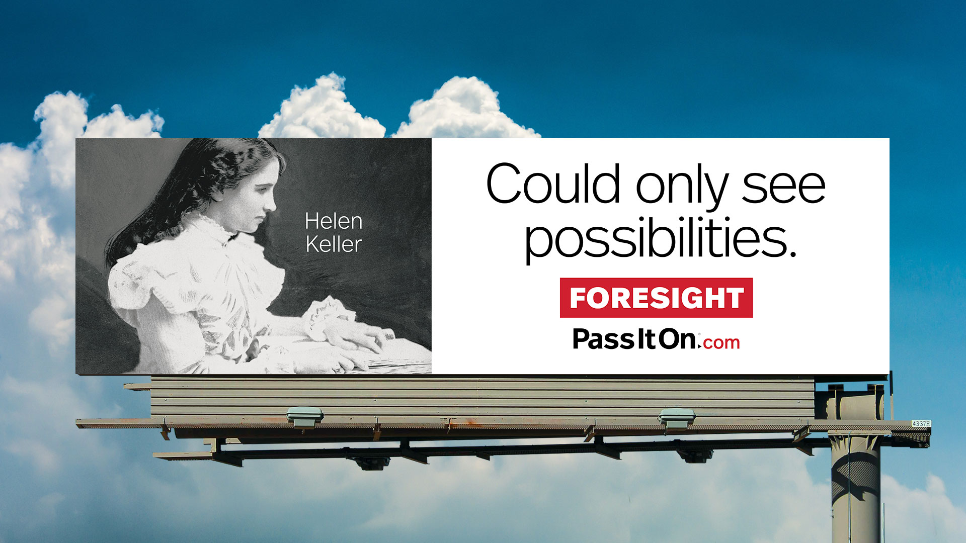 Foresight hellen keller