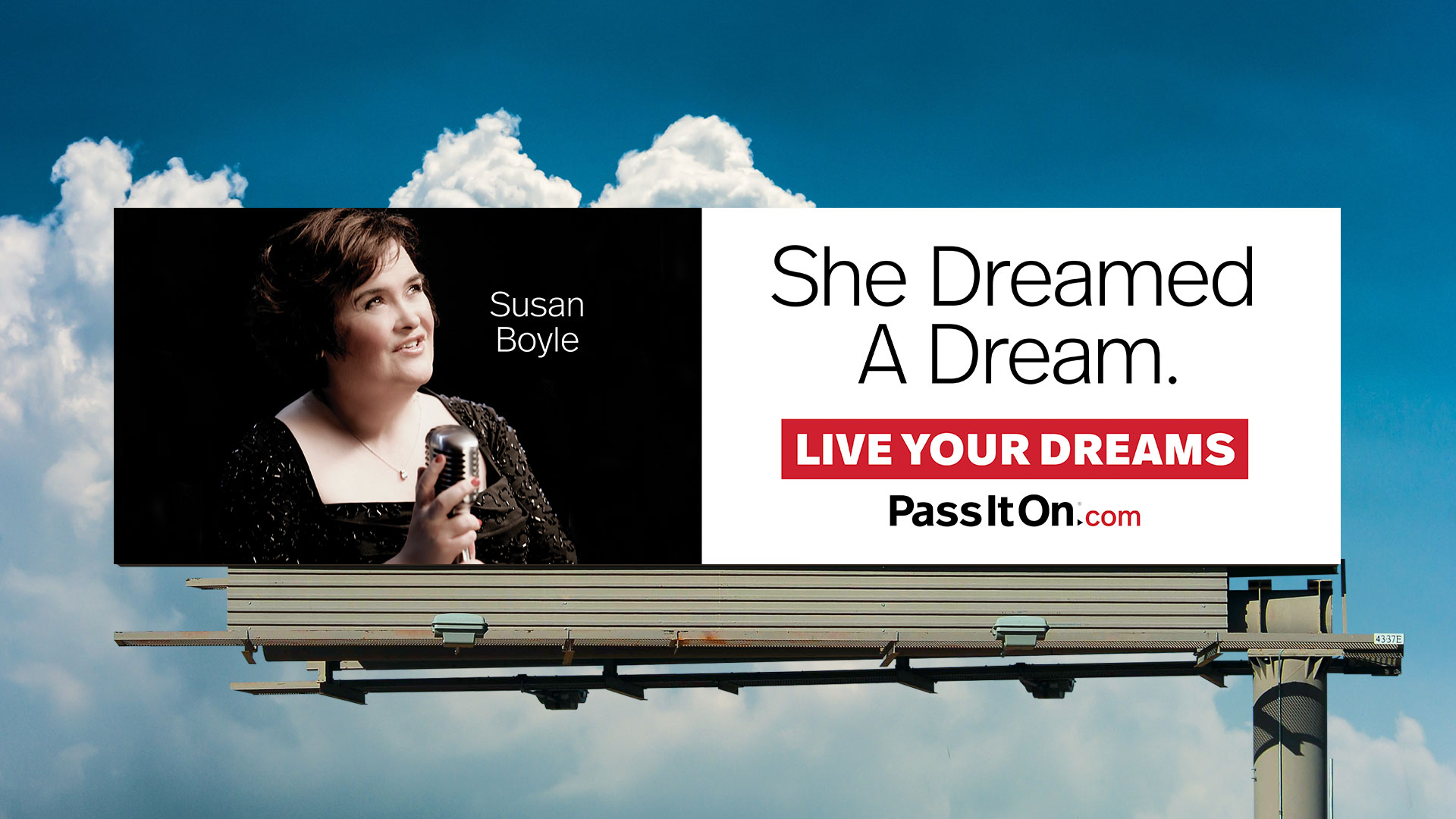 Live your dreams susan boyle
