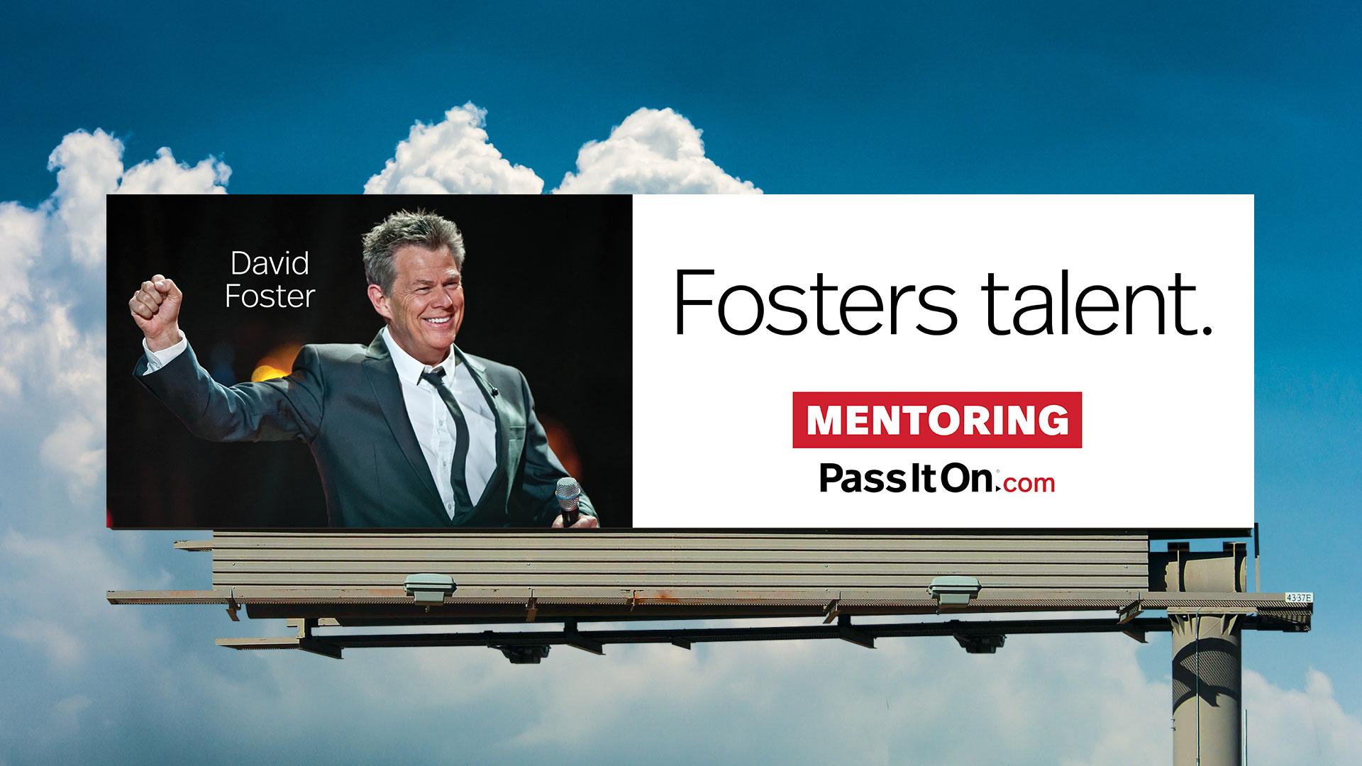 Mentoring david foster