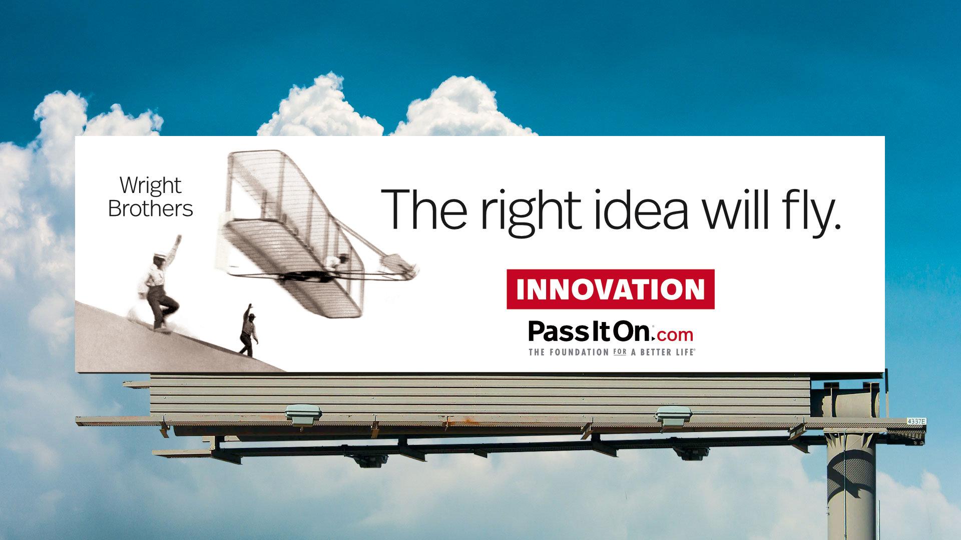 The right idea will fly