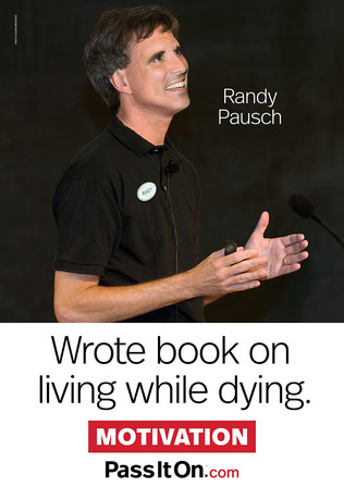 Motivation randy pausch thumb