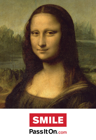 Smile mona lisa thumb