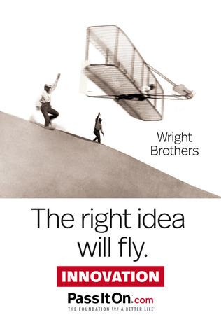 The right idea will fly innovation
