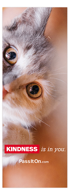 Kindness is in you bookmark 1 thumb