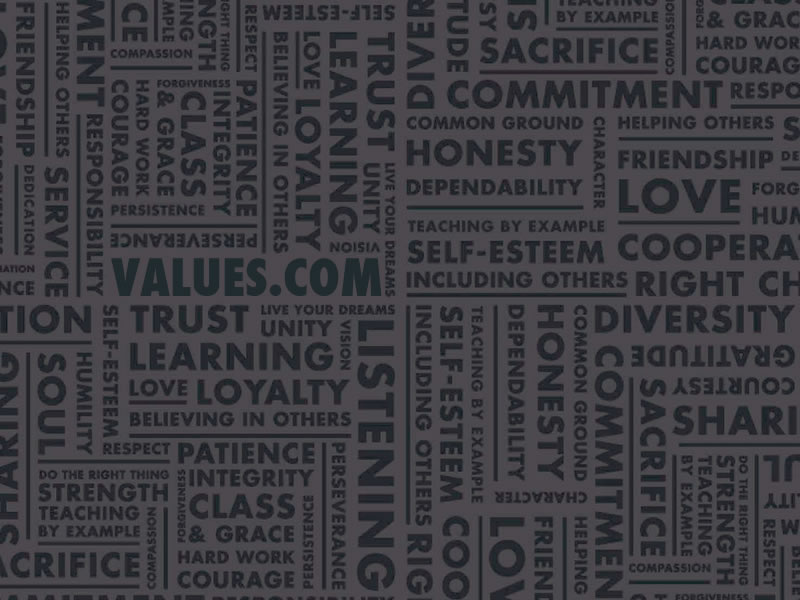 Values wallpaper