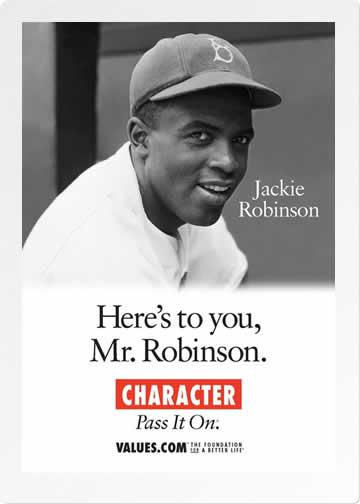 Character postcard