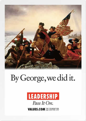 Leadership postcard