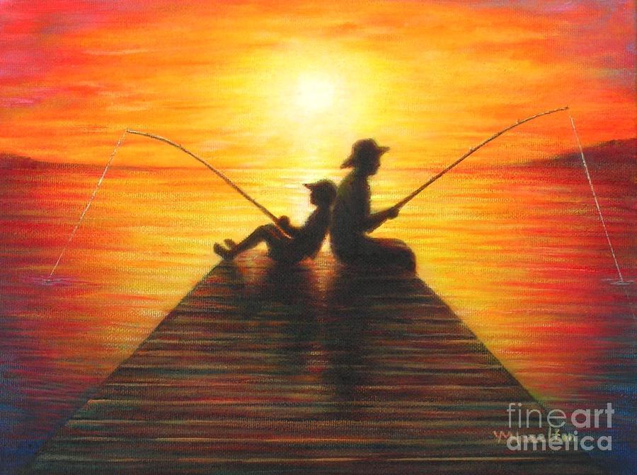 Fishing with grandpa yvonne hazelton