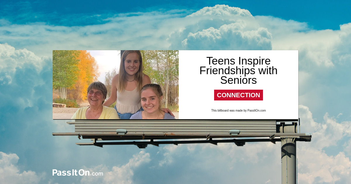 Teens Inspire Friendships with Seniors