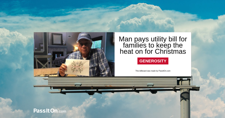 Man pays utility bill for families to keep the heat on for Christmas