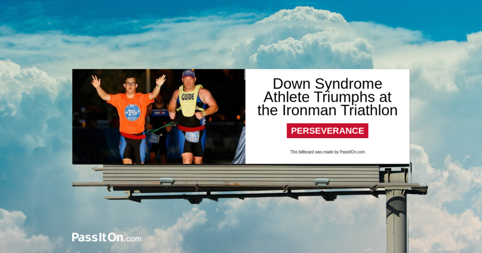 Down Syndrome Athlete Triumphs at the Ironman Triathlon