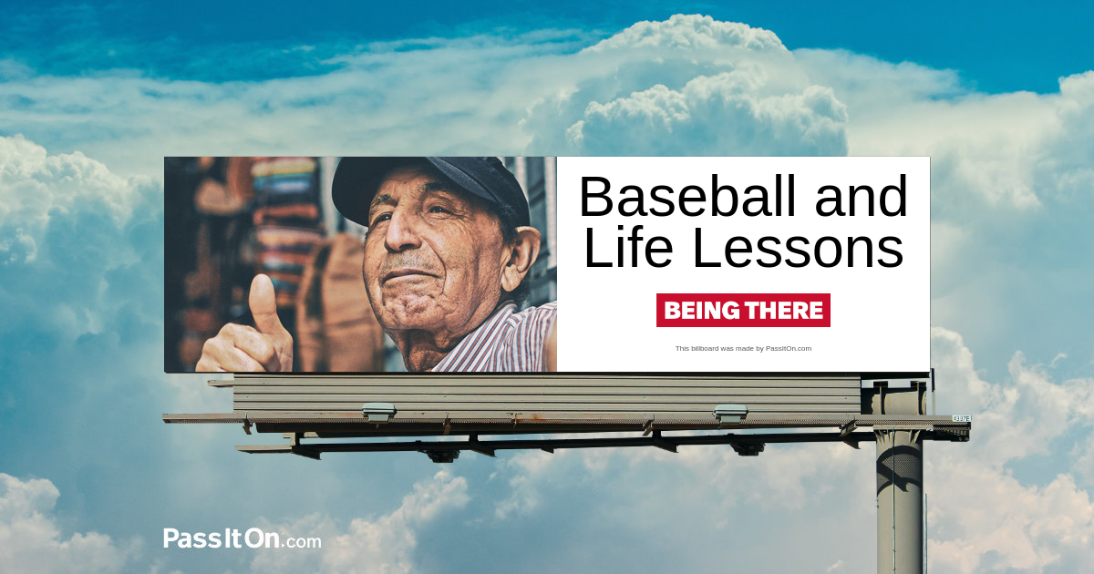 Baseball and Life Lessons