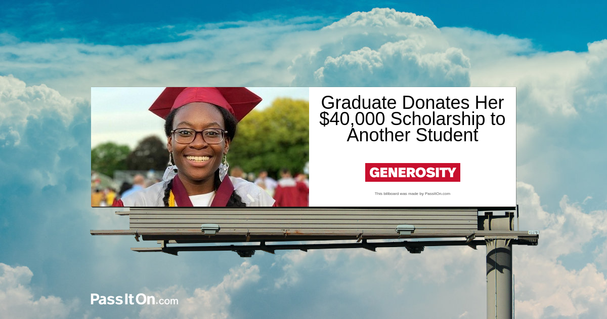 Harvard-Bound Graduate Donates Her $40,000 Scholarship to Another Student