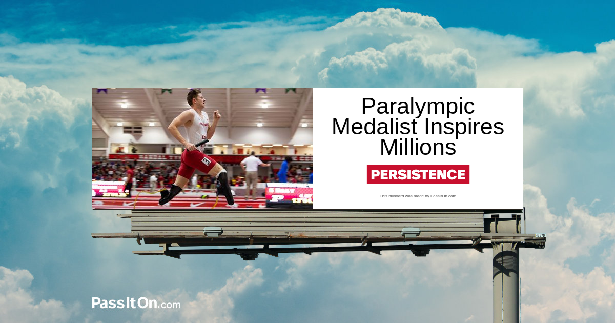 Paralympic Medalist Inspires Millions