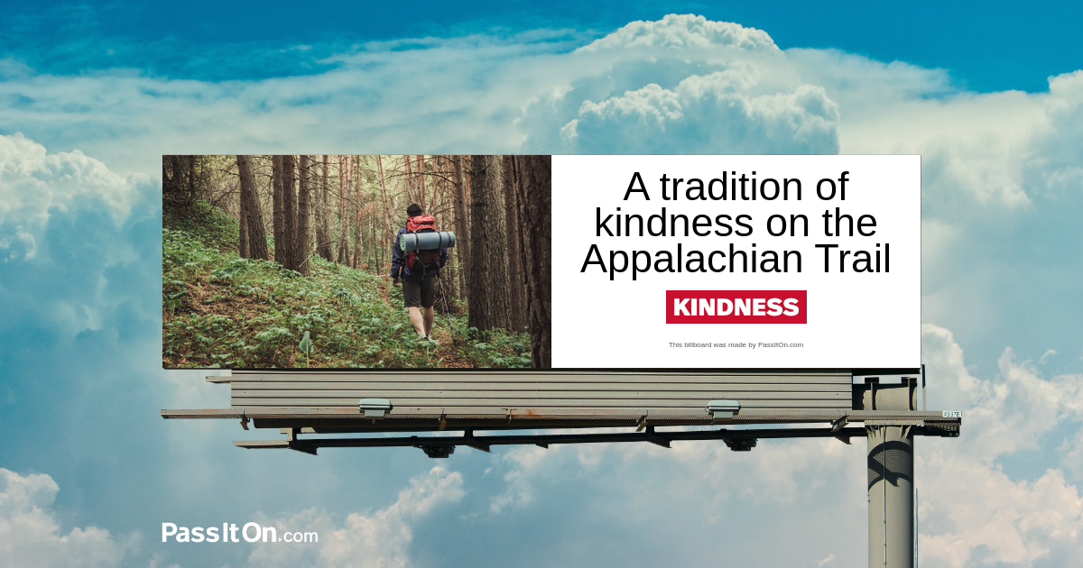 A tradition of kindness on the Appalachian Trail