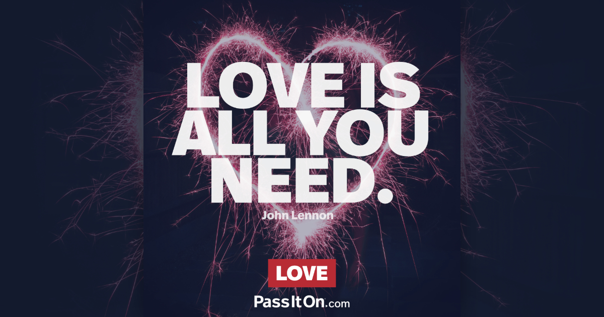 All You Need Is Love John Lennon Passiton Com