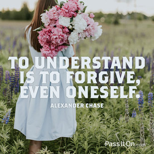 To understand is to forgive, even oneself. #<Author:0x00007f6454631a68>
