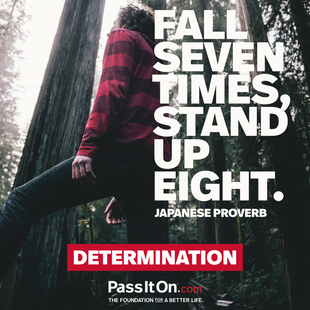 Fall seven times, stand up eight. #<Author:0x00007f69ad9b5d70>