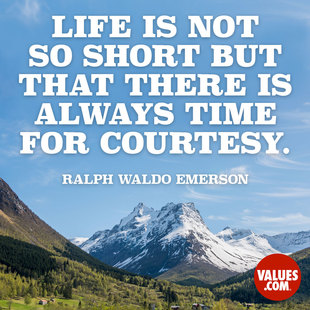 Life is not so short but that there is always time for courtesy. #<Author:0x00007f14f21f7da0>