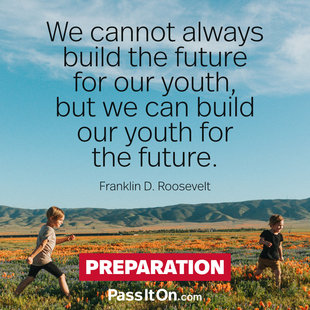 We cannot always build the future for our youth, but we can build our youth for the future.  #<Author:0x00007f7fb86d05a8>