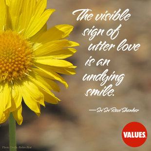 The visible sign of utter love is an undying smile. #<Author:0x00007f7590e77450>