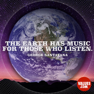 The earth has music for those who listen. #<Author:0x00007f1ae0fa8af0>