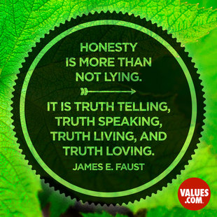 Honesty is more than not lying. It is truth telling, truth speaking, truth living, and truth loving. #<Author:0x00007f94bd9e84b0>