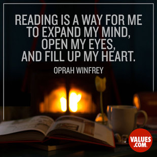 Reading is a way for me to expand my mind, open my eyes, and fill up my heart. #<Author:0x00007facc2519930>