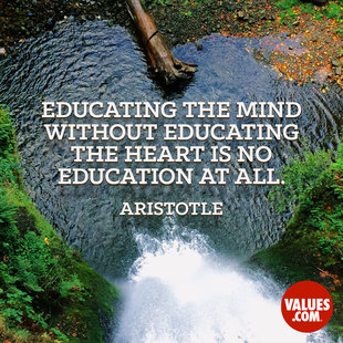 Educating the mind without educating the heart is no education at all. #<Author:0x00007fe8508b0ed0>