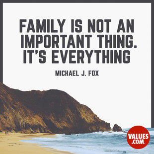 Family is not an important thing. It's everything. #<Author:0x00007f252f2128b0>