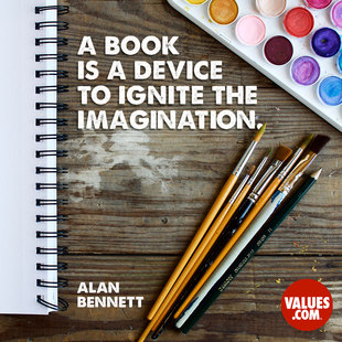 A book is a device to ignite the imagination. #<Author:0x00007f44ee950a58>