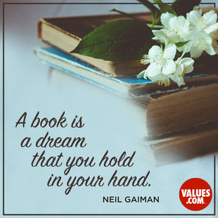 A book is a dream that you hold in your hand. #<Author:0x00007fbeee61bbb0>