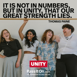 It is not in numbers, but in unity, that our great strength lies. #<Author:0x0000556278c090b0>