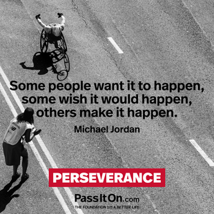 Some people want it to happen, some wish it would happen, others make it happen. #<Author:0x00007f09408871b0>